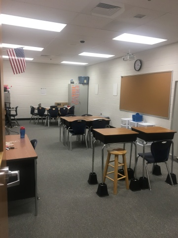 Flexible seating arrangement